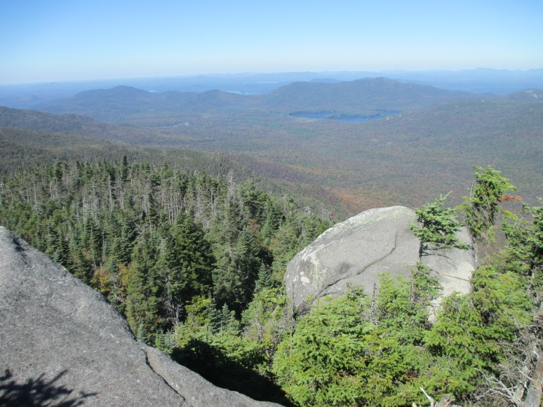 View from overlook about a tenth of a mile from summit